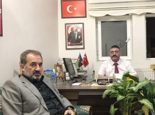 MHP MDK Üyesi Taner Gökçek, Başkan Ercüment Daşdelen'i ziyaret etti
