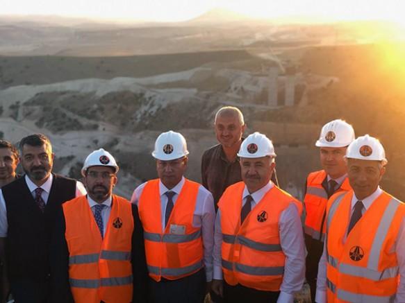 Milletvekilleri Arslan ve Kılıç, Sarıkamış-Horasan yolunu incelediler