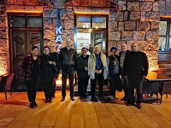 MÜSİAD, Kars'ta Timsal Karabekir ve ekibini misafir etti