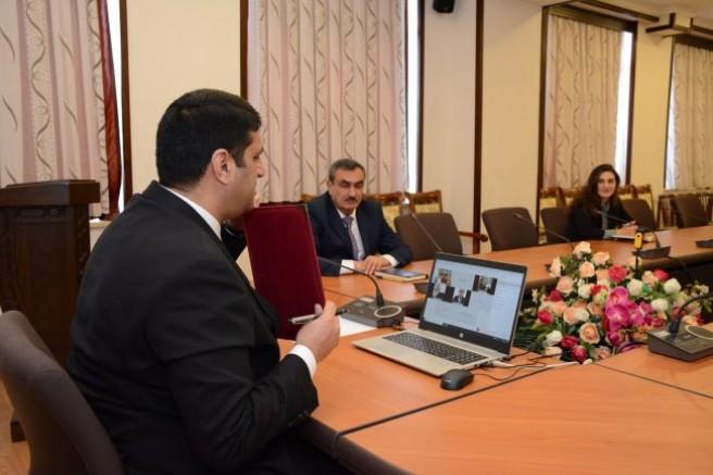 Nahçıvan Devlet Üniversitesi ile Kafkas Üniversitesi sözleşme imzaladı