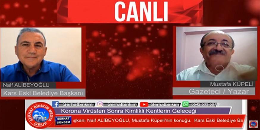 """Naif Alibeyoğlu, """"Serhat Gündem""""de soruları yanıtladı"""