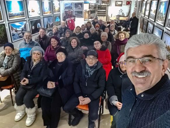 Özgen Beşli, Kars'ı tanıtmaya devam ediyor