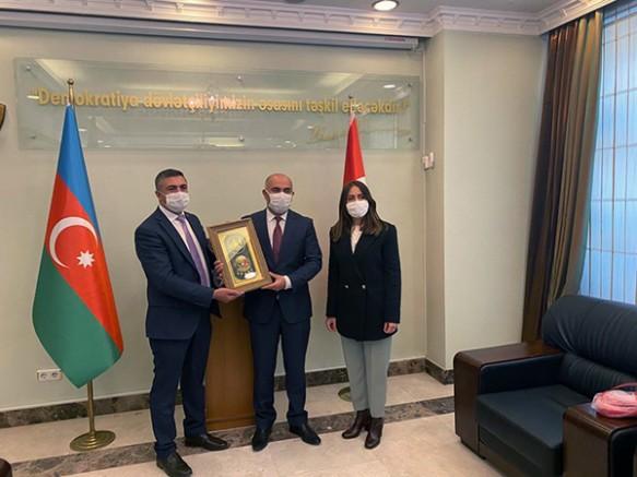 """Sağlık-Sen Kars ve Iğdır Şube Başkanları: """"Azerbaycan'ın yanındayız"""""""