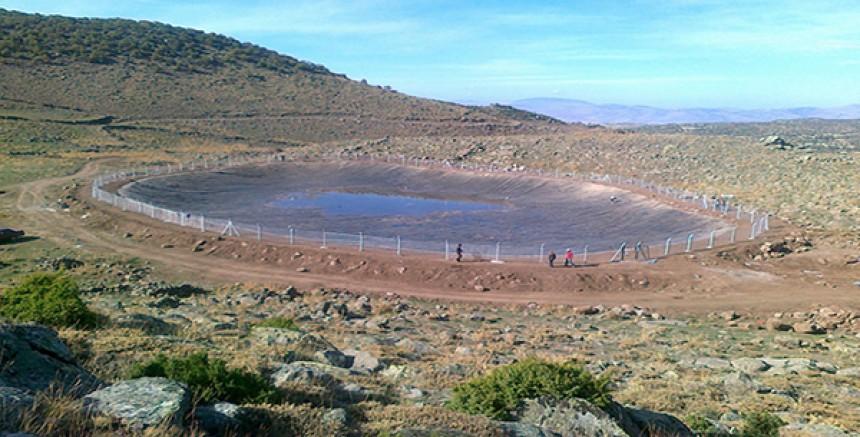 Sarıkamış'a hayvan içme suyu göleti yapılacak