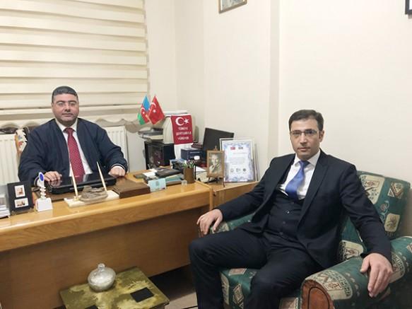 SERKA Genel Sekreteri Oktay Güven'den, Ercüment Daşdelen'e 'hayırlı olsun' ziyareti