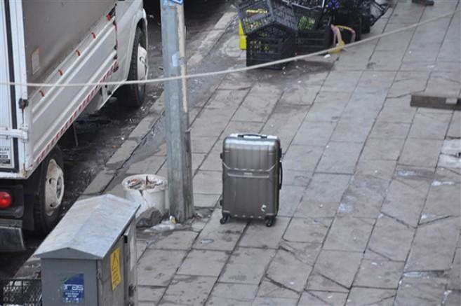 Şüpheli valiz polisi harekete geçirdi