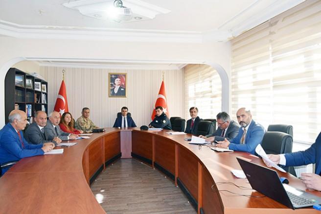 Susuz'da, Daire Amirleri toplantısı yapıldı