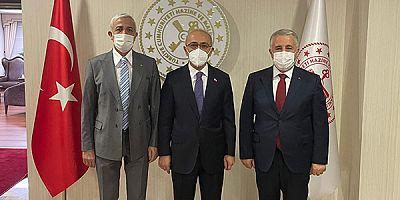 Arslan ve Kılıç'tan Maliye Bakanı Elvan'a yatırımlara destek ziyareti