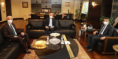 Arslan ve Kılıç, yatırımlara destek ziyaretlerini sürdürüyor