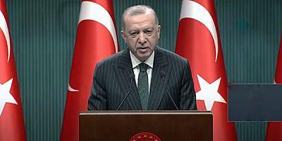 Cumhurbaşkanı Erdoğan, alınan yeni tedbirleri açıkladı