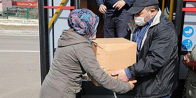 Kars Belediyesinden 500 aileye Ramazan yardımı