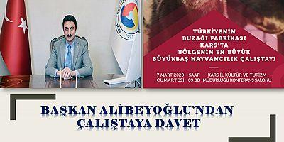 KATSO Başkanı Alibeyoğlu'ndan çalıştaya davet