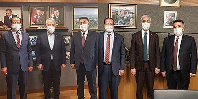 KESOB Başkanı Adem Burulday, esnafın sorunlarını vekillere iletti