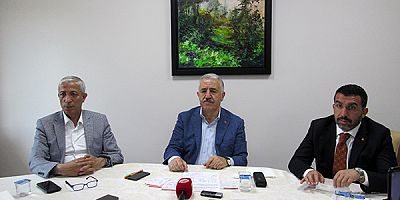 """MİLLETVEKİLLERİ ARSLAN VE KILIÇ: """"SAMAN İHRACATINI DURDURDUK"""""""