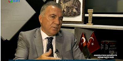 Naif Alibeyoğlu KRT TV'de Kars'ı Anlattı