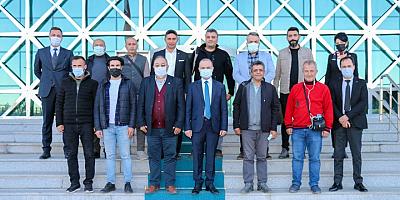 Emniyet Müdürü Yavuz Sağdıç Dünya Gazeteciler Gününü kutladı