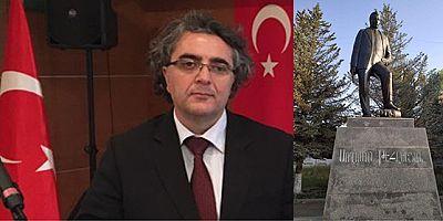 TADEF Genel Başkan Vekili Aydemir'den Ermenistan'da ki heykele tepki