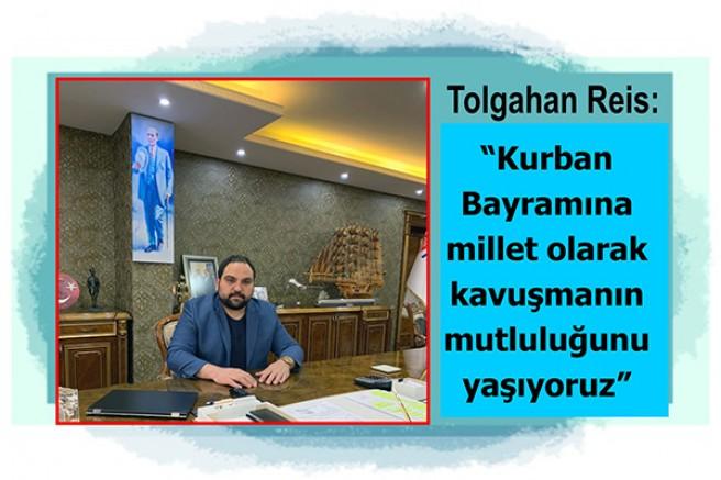 Turgutreis Group Yönetim Kurulu Başkan Yardımcısı Tolgahan Reis'in Kurban Bayramı mesajı