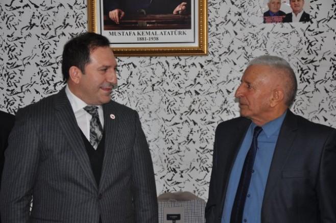 Türkiye Değişim Partisi Genel Başkan Yardımcısı Özkan Ercan Kars'ta