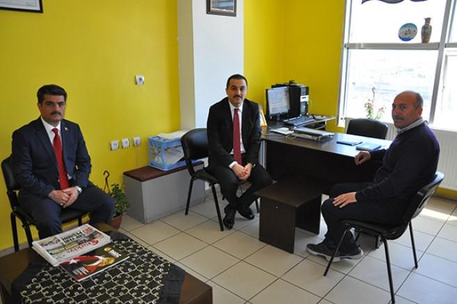 Vali Türker Öksüz İHA'yı ziyaret etti
