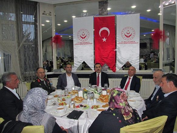 Vali Türker Öksüz, Şehit aileleri ve Gazilerle iftarda buluştu